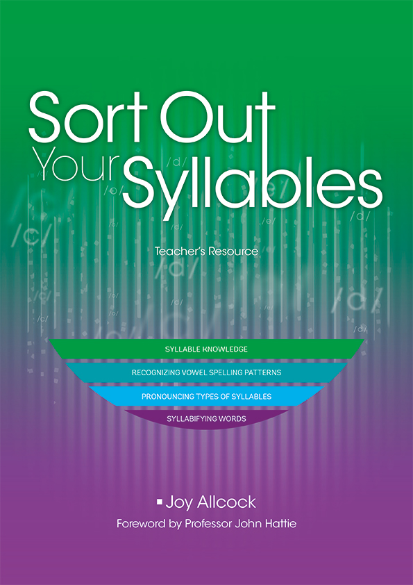 Syllables cover
